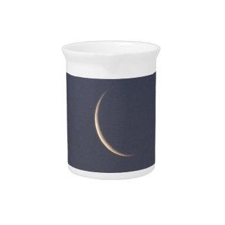 Astilla de la luna jarra de beber