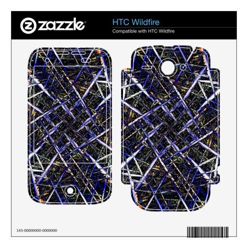 Astillas Calcomanías Para HTC Wildfire