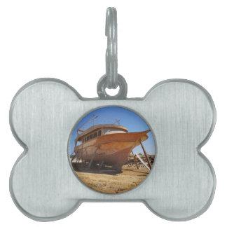 astillero del desierto placas mascota