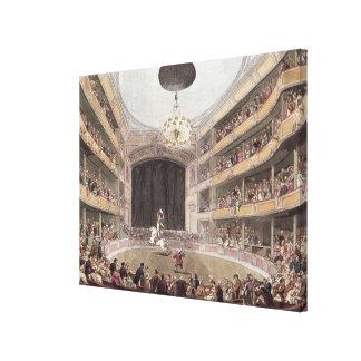 Astley's Amphitheatre from Ackermann's Canvas Prints