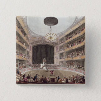 Astley's Amphitheatre from Ackermann's Pinback Button