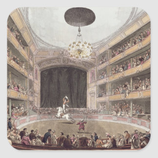 Astley's Amphitheatre from Ackermann's Square Sticker