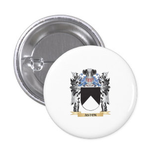 Aston Coat of Arms - Family Crest 1 Inch Round Button