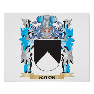 Aston Coat Of Arms Print