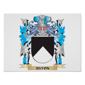Aston Coat Of Arms Posters