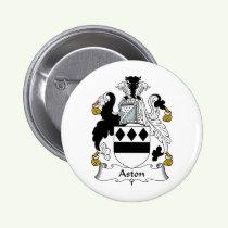 Aston Family Crest Button
