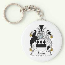 Aston Family Crest Keychain
