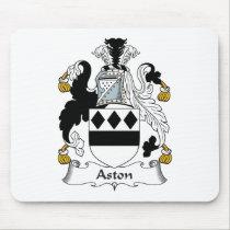 Aston Family Crest Mousepad