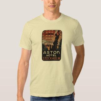 Aston Hotel Stockholm Sweden T-shirt