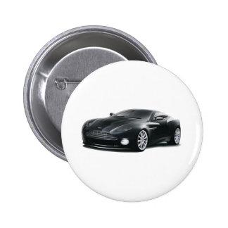 Aston Martin Pin Redondo De 2 Pulgadas