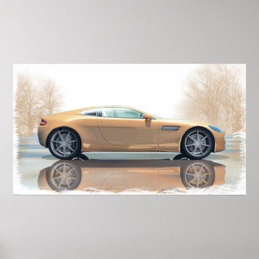 Aston Martinv Poster