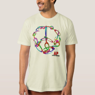 Aston Pershing private collection Peace sign T-Shirt