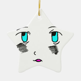Astonished by our rencontre.png ceramic ornament