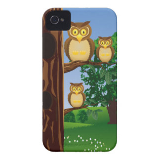 Astonished Owls Club Blackberry Bold Case