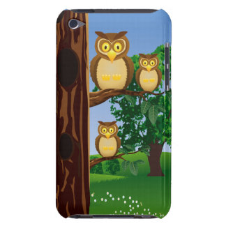 Astonished Owls Club iPod Touch Case