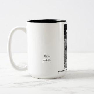 Astonishing Meat! Two-Tone Coffee Mug