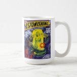 ASTONISHING STORIES Vintage Pulp Magazine Cover Coffee Mug