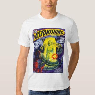 ASTONISHING STORIES Vintage Pulp Magazine Cover T Shirt