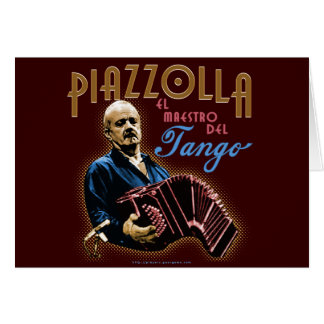 Astor Piazzolla Card