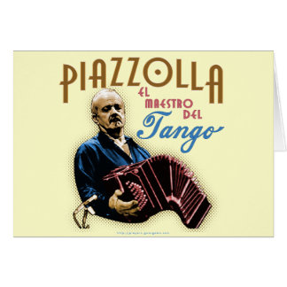 Astor Piazzolla Greeting Cards