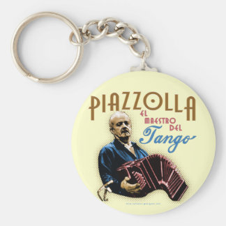 Astor Piazzolla Key Chain