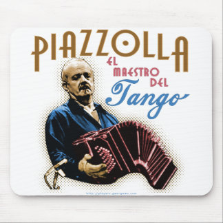 Astor Piazzolla Mouse Pad