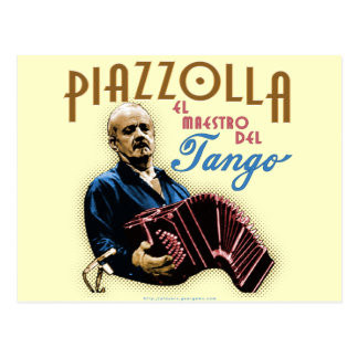 Astor Piazzolla Postal