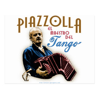 Astor Piazzolla Postcards