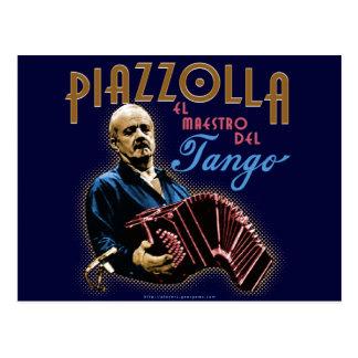 Astor Piazzolla Tarjeta Postal