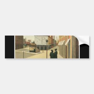 Astor Place, New York circa 1932 Bumper Sticker