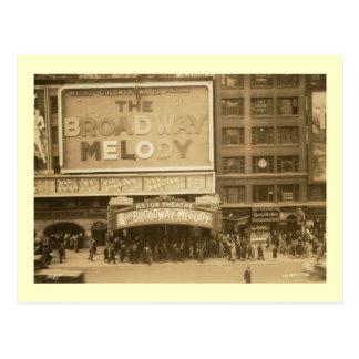 Astor Theatre, New York City Vintage Postcard