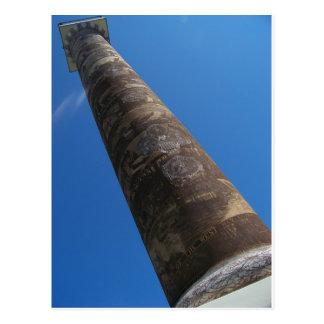 Astoria Column Up Close Postcard