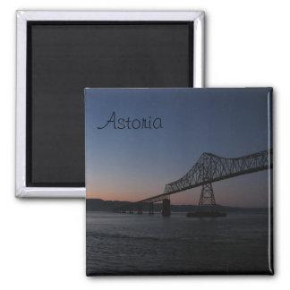 Astoria-Megler Bridge, Oregon 2 Inch Square Magnet