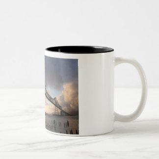 Astoria-Megler Bridge Two-Tone Coffee Mug