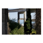 Astoria-Megler Bridge  With A Sailboat Poster