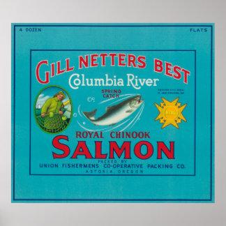 Astoria, Netters BestAstoria de OregonGill, O Poster