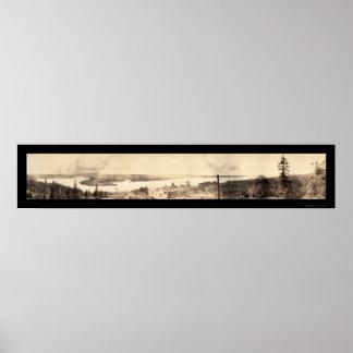 Astoria, O foto del sur 1912 de la visión Impresiones
