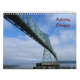 Astoria, Oregon 2016 Calendar