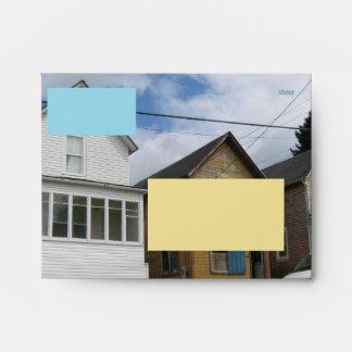 Astoria Oregon Houses Envelopes