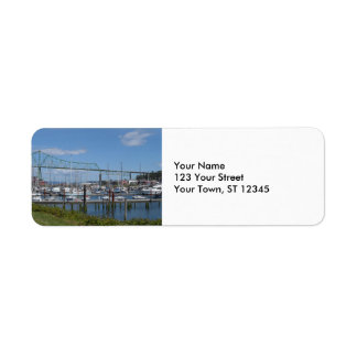Astoria, Oregon Label