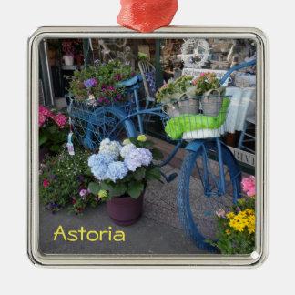 Astoria, Oregon Metal Ornament