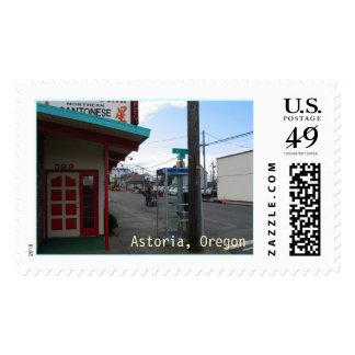 Astoria Oregon Restaurant Postage