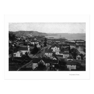 Astoria, Oregon Town View Looking West Postcard