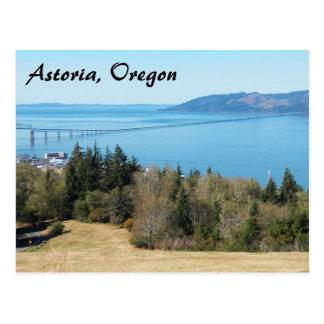 Astoria, Oregon Travel Photo Postcard