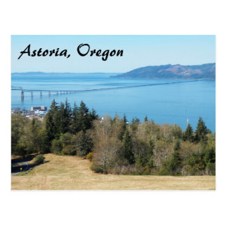 Astoria, Oregon Travel Postcard
