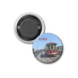 Astoria Riverfront Trolley Magnet