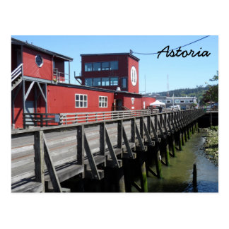 Astoria Riverwalk Postcard