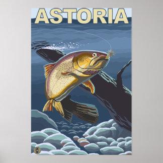 Astoria, sección representativa de la trucha de Or Impresiones