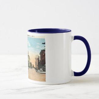 Astoria Square, Astoria, Queens, New York Vintage Mug