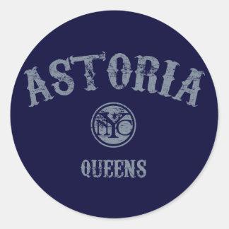 Astoria Stickers
